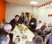 New-year meeting in Szczecin